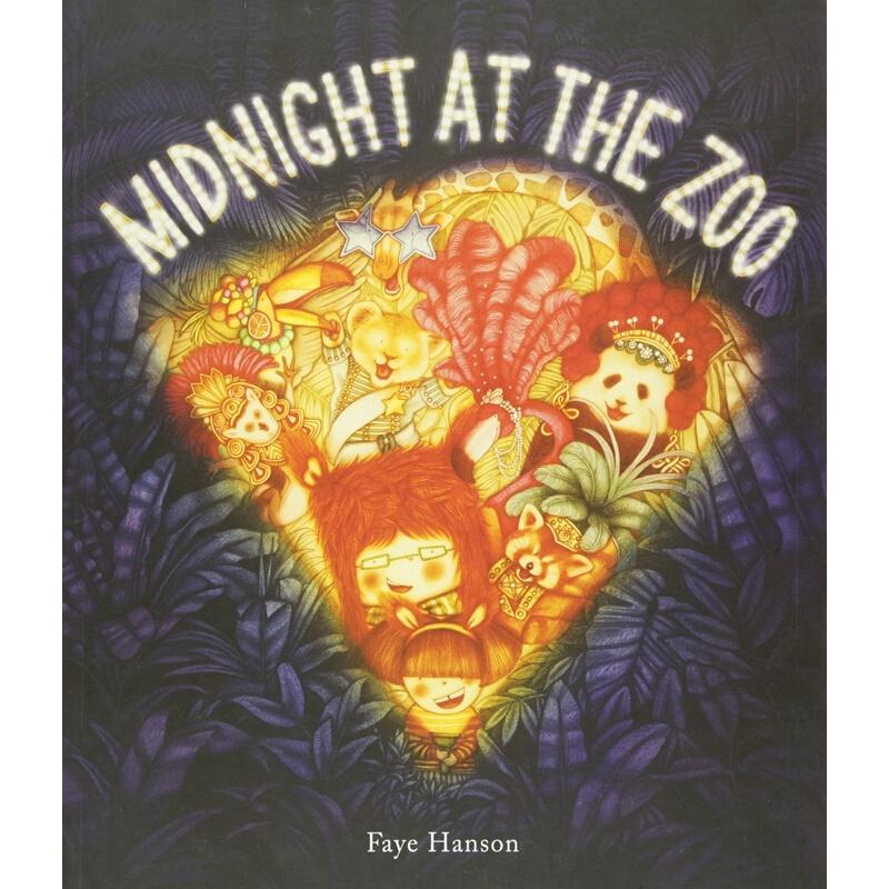 【中商原版】动物园的午夜 英文原版 Midnight at the Zoo 儿童故事绘本 3-6岁 动物主题 趣味故事 动物园探险