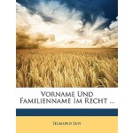 【预订】Vorname Und Familienname Im Recht ...