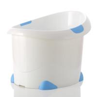 宝贝时代 儿童浴桶婴儿洗澡桶小号厚 洗澡盆儿童浴盆泡澡桶沐浴桶