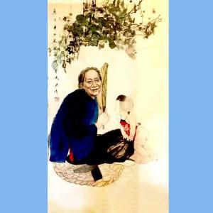 中国美术家协会理事,国家一级美术师,美国好莱坞电影公司总裁,中美慈善基金会会长,人民艺术家协会终身艺术顾问董俊英(人物)