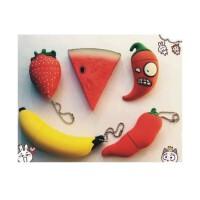 低价包邮 日照鑫 8g16g32gu盘迷你水果西瓜草莓香蕉个性U盘可爱创意男女生优盘 (一个装)