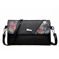 女包信封包单肩斜跨包2018款时尚百搭多用简约手拿包中夏季