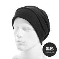 帽子男士时尚韩版潮冬天套头帽帽子女冬天春头巾帽针织帽街舞帽