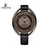 SWAROVSKI/施华洛世奇 Crystalline Oval手表时尚魅力女士腕表 Black 5158517