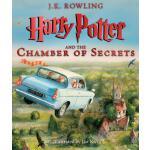 【现货】英文原版 哈利波特与密室 哈利波特卷2 豪华精装插图版 大开本彩绘精装 Harry Potter and th