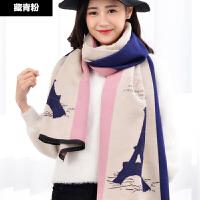 围巾女秋冬季长款韩版大披肩两用 冬天加厚百搭仿羊绒女士
