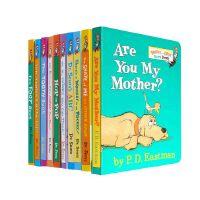 【中商原版】苏斯博士低龄套装 10册纸板书 廖彩杏推荐书单 英文原版 Dr.Seuss's ABC 苏斯博士的ABC 苏斯博士英文启蒙纸板书 儿童绘本故事