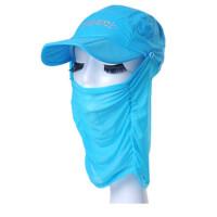 夏天防晒帽子女可折叠运动鸭舌帽女户外遮阳帽遮脸春季骑车太阳帽