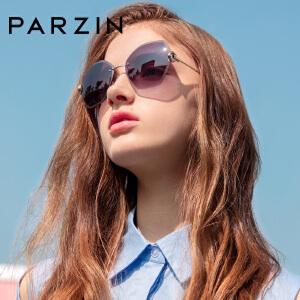 帕森新品太阳镜女不规则潮人墨镜加厚尼龙镜片驾驶镜