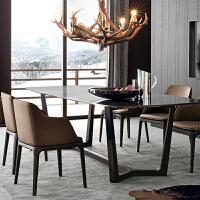 北欧现代简约实木餐椅经济餐厅家用靠背商用酒店椅子凳子