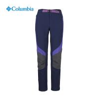 Columbia哥伦比亚户外女款舒适透气登山徒步冲锋裤PL8133