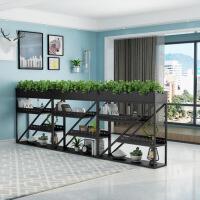 展示架创意格子走廊后现代屏风隔断欧式现代简约创意格子绿植玄关柜室内
