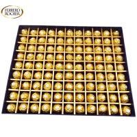 【顺丰包邮】费列罗(FERRERO) DIY99粒金莎巧克力 配99格方形礼盒 情人节礼物