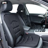 日本YAC 夏季汽车单片坐垫 四季通用办公座椅垫子 透气免捆绑车垫