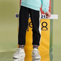 【1件3折:65.7元】巴布豆童装儿童春季运动裤时尚女童休闲裤子