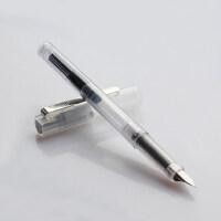 德国进口schneider施耐德钢笔学生用透明彩墨BK406特细0.35mm钢笔成人练字手账