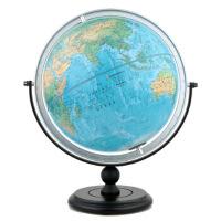 30cm中英文地形地球仪(万向支架)-MQ3012 北京博目地图制品有限公司 9787503040016