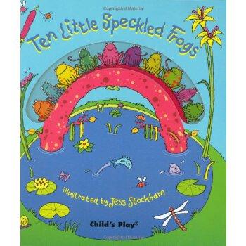 Ten Little Speckled Frogs (Activity Books S) [ISBN: 978-0859539593] 美国发货无法退货,约五到八周到货