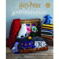 哈利波特 编织魔法:官方哈利波特编织图案书 英文原版 Harry Potter: Knitting Magic: The
