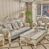 欧式沙发垫套装四季防滑 皮沙发垫坐垫可定制