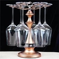 欧式倒挂红酒杯架酒柜家装饰品摆件客厅工艺家居摆设现代简约创意