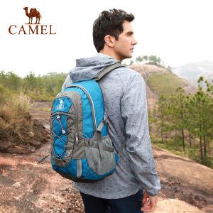 camel骆驼户外双肩背包男女款休闲徒步30L登山包