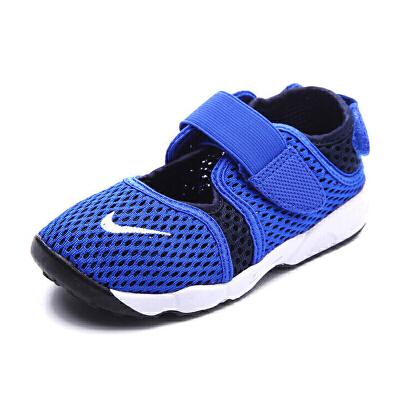 耐克(Nike)新款儿童鞋男女童鞋829972-414蓝色