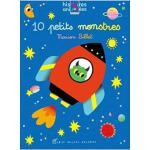 【现货】法语原版 10个小怪物(AR互动绘本)10 petits monstres 趣味儿童精装绘本 三岁以上 978