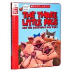 【中商原版】英文原版 The Three Little Pigs and the Somewhat Bad Wolf
