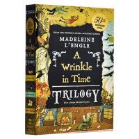 【中商原版】时间的皱折皱纹 3故事合1 英文原版 A Wrinkle in Time Trilogy