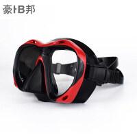 三宝套装近视眼镜面罩潜水装备潜水镜浮潜