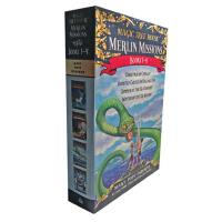 Magic Tree House Merlin Mission 1-4 Boxed Set 英文原版 神奇树屋:梅林任