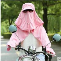 可折叠太阳帽 遮阳帽子女夏天防紫外线防 晒帽男户外骑车遮脸帽钓鱼