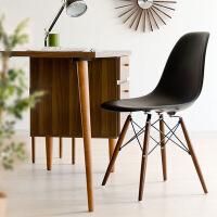 幸阁 实木腿家用小矮板换鞋凳 实木布艺成人沙发凳简约矮凳家用创意圆