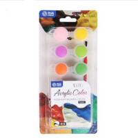 绘画颜料 液体颜料 绘图画画颜料5ml内送画笔 多款可选