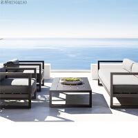 简易欧式布艺卡座沙发凳子会客区组合客厅咖啡厅办公茶几现代简约