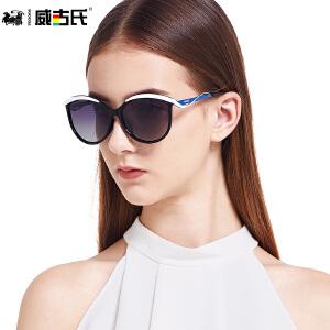威古氏女款防紫外线偏光太阳眼镜女士墨镜 9051