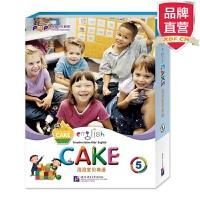 [包邮]泡泡宝贝英语5(English Cake 5) (含故事书+活动手册+语音手册+MP3光盘)【新东方专营店】