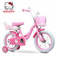 新款凯蒂猫儿童自行车12/14/16寸2-3-5-6岁女童宝宝小孩童车女孩单车
