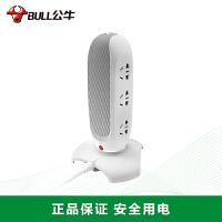 公牛立式插―V81060(无USB)立式插座 插排/插线板/接线板/排插 6位总控全长1.8米/过载保护