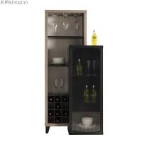 欧式客厅酒柜现代简约小酒柜多功能储物柜靠墙餐边柜红酒柜子家用 单门