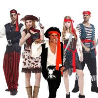 Cosplay万圣节服装成人款 高档表演衣服 牛仔 加勒海盗服装