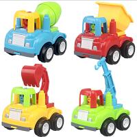 儿童玩具车男孩惯性小汽车工程车1-2-3周岁宝宝益智玩具回力套装