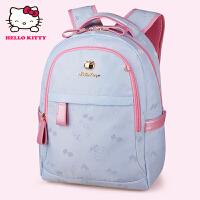 HelloKitty凯蒂猫 KT1136浅蓝 儿童书包 小学生书包 女童韩版3-6年级减负护脊书包
