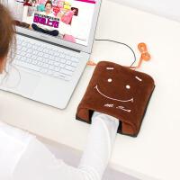 伊暖儿   新品USB保暖发热暖手鼠标垫-Mr.SMILE笑脸