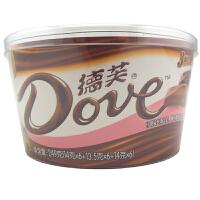 德芙(Dove) 新丝滑 什锦装丝滑牛奶、榛仁葡萄干及香浓巧克力 249g 桶装 休闲零食零嘴