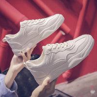 韩版百搭休闲潮女鞋学生板鞋子小白鞋女新款内增高帆布鞋