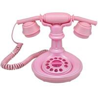 卡通电话机复古个性MM爱爱仿古电话机家用固定电话座机Q