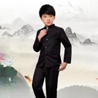 儿童中山装五四青年男女民国学生装合唱朗诵表演出服刺绣立领套装