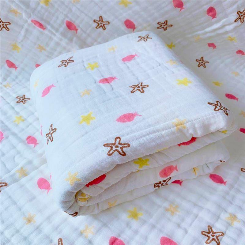君别婴儿浴巾毛巾超柔纱布宝宝洗澡新生儿童吸水家用品的初生被子